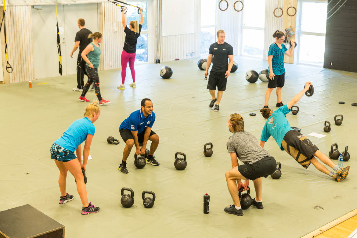 Total Training på IKSU, Umeå